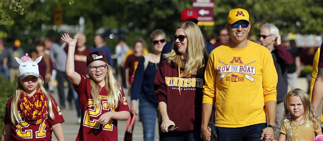 Gopher Football Single Game Tickets